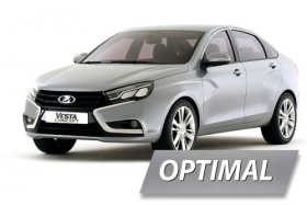 Комплект ГБО на LADA VESTA (OPTIMAL)