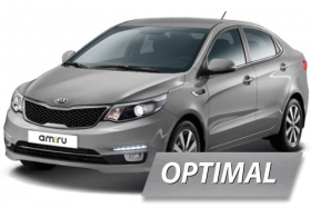 Комплект ГБО на KIA RIO (OPTIMAL)