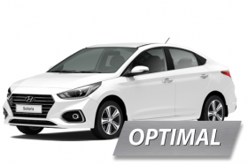 Комплект ГБО на Hyundai Solaris (OPTIMAL)